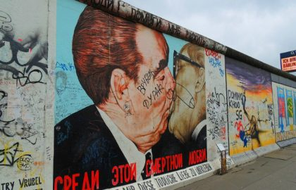 East Side gallery Berlijn