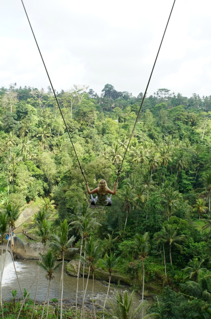 The Bali Swing Ubud, The Bali Swing: swinging over Ubud